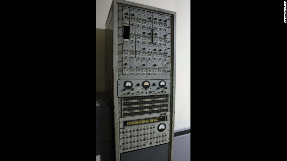 According to the Iranian tour guide, this was communications equipment used by the CIA to spy on the Iranians.