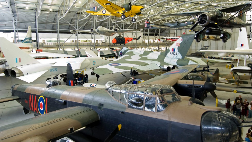 "The aviation museum at Duxford, UK, offers arguably the world's best visitor experience. ""The thing that makes this place is atmosphere,"" says aviation expert Andy Saunders. ""The fact that Spitfires, Me 109s, B-17s and P-51 aircraft can be seen flying here makes this place the ultimate museum of its genre."""