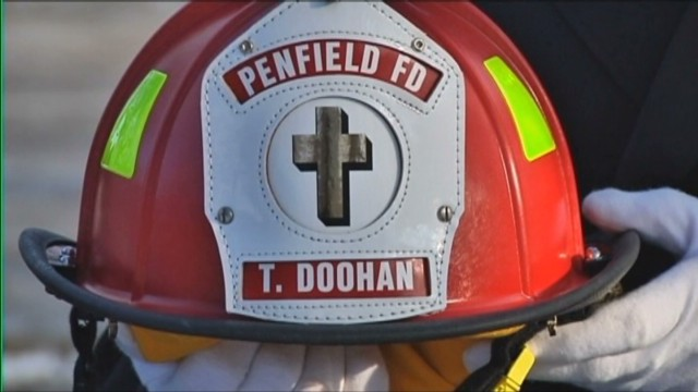 8-year-old buried as a 'firefighter'