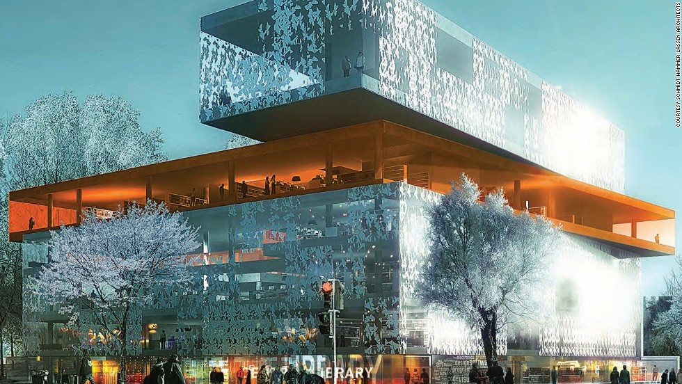"<em>Halifax Central Library </em><br /><br />The library in the Canadian port city of Halifax, Nova Scotia, it aims to become the cultural hub of Canada's second-smallest province. Designed by Danish architectural firm <a href=""http://shl.dk/"" target=""_blank"">schmidt hammer lassen</a>, it blends the distinctive atmosphere of local landscape with northern European design heritage."