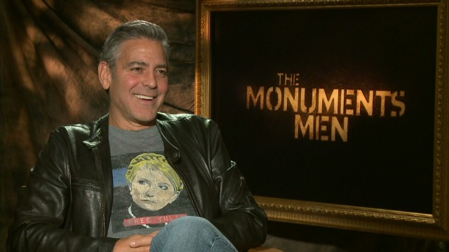 Clooney's dad watches surprise ending