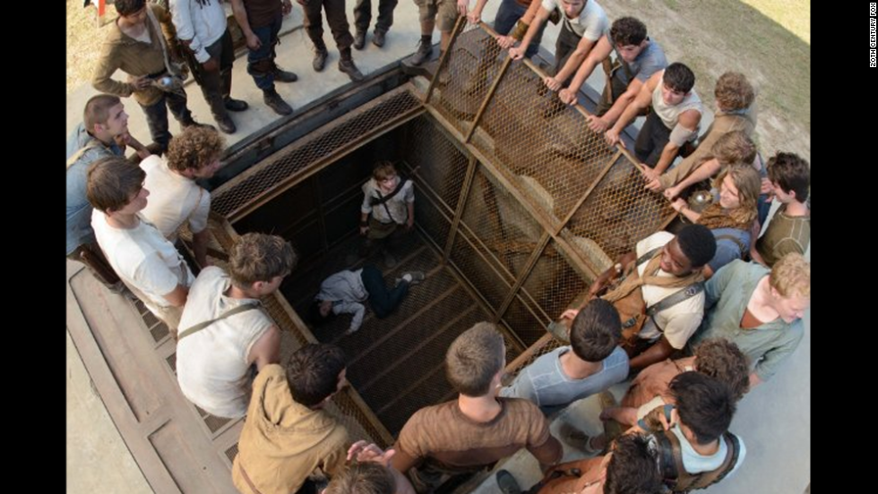 "<strong>""The Maze Runner""</strong> (September 19):<strong> </strong>Another dystopian young adult novel that has been compared to ""The Hunger Games,"" ""The Maze Runner"" stars mostly unknown actors grappling with what they are doing in a giant labyrinth and trying to escape its clutches."