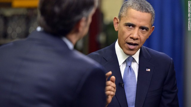 President Barack Obama talks exclusively to CNN's Jake Tapper