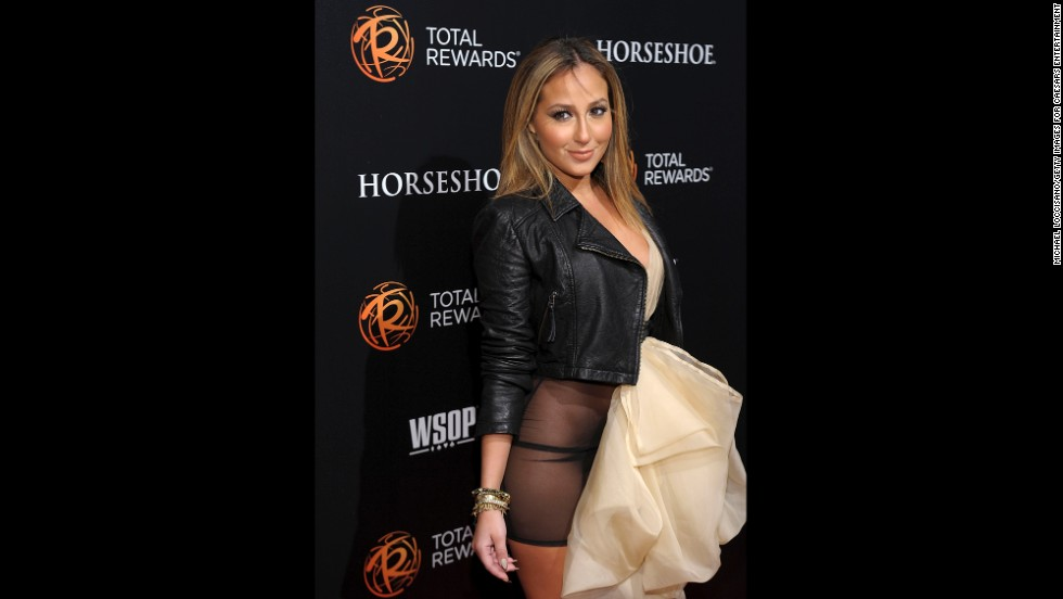 "If there is a lesson to be learned here, it is that sheer is rarely a kind fabric to anyone. Adrienne Bailon tried to go with ""daring"" and wore a sheer dress to a March 2012 event in New York City, but she ended up being simply overexposed. Those who didn't know much about the Cheetah Girl <a href=""http://www.gossipcop.com/adrienne-bailon-vagina-photos-wardrobe-malfunction-flash-privates-crotch-shot-pics-pictures/"" target=""_blank"">suddenly became very well acquainted. </a>"