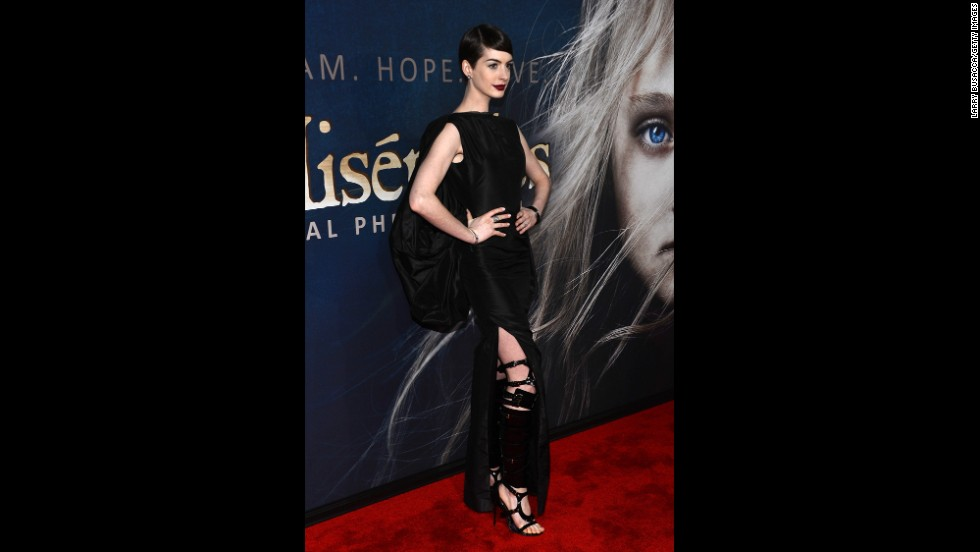 "We think 2012 might've been the year stylists instituted a no underwear rule. Like another celebrity on this list, <a href=""http://marquee.blogs.cnn.com/2012/12/12/anne-hathaway-on-that-wardrobe-malfunction/"" target=""_blank"">Anne Hathaway revealed London and France (but no underpants)</a> when she arrived at the New York premiere of  ""Les Miserables"" that year. Thanks to her free-spirited approach to undergarments that night, she wound up giving photographers an eyeful as she climbed out of a car."