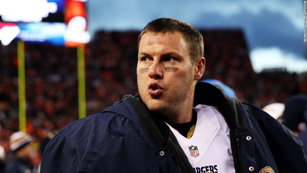 "Philip Rivers, quarterback for the San Diego Chargers, was raised a Catholic and still practices the faith. ""The biggest thing that stuck in my head from my mom was, never miss Mass,"" Rivers has said."