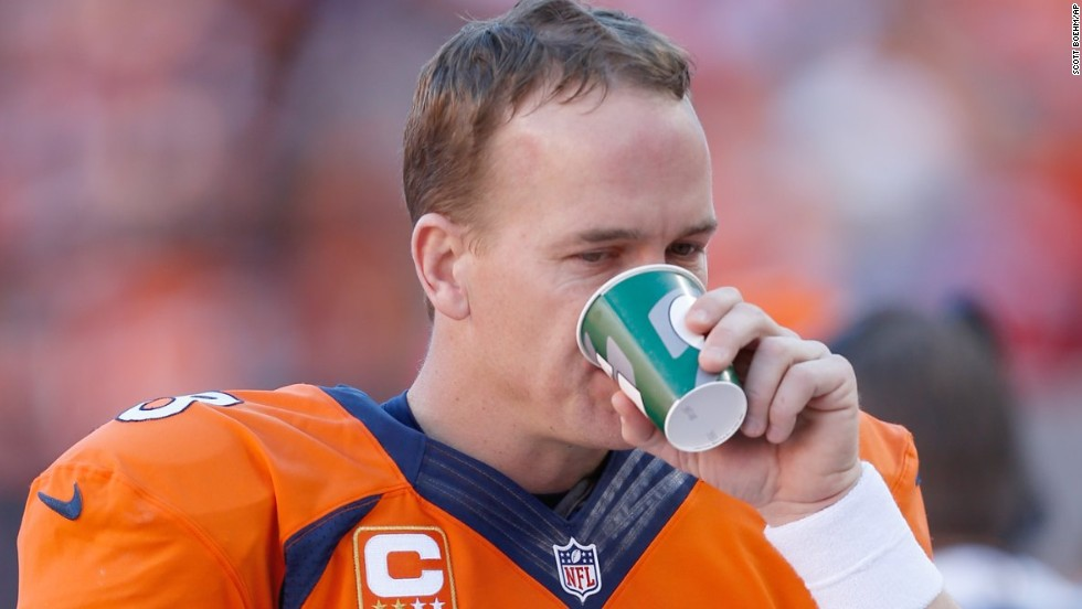 At the end of Sunday's game, it's almost a sure bet that either Seattle's Pete Carroll or Denver's John Fox will end up drenched in a Gatorade shower. The drink is provided to the teams by the company, and each side will consume around 40 gallons during the course of the game.