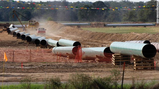 Both Democratic Sen. Mary Landrieu and Republican challenger Bill Cassidy are trying to use votes on the Keystone XL pipeline to gain advantages ahead of the state's Dec. 6 run-off election.