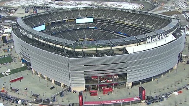 A birds-eye view of Super Bowl security
