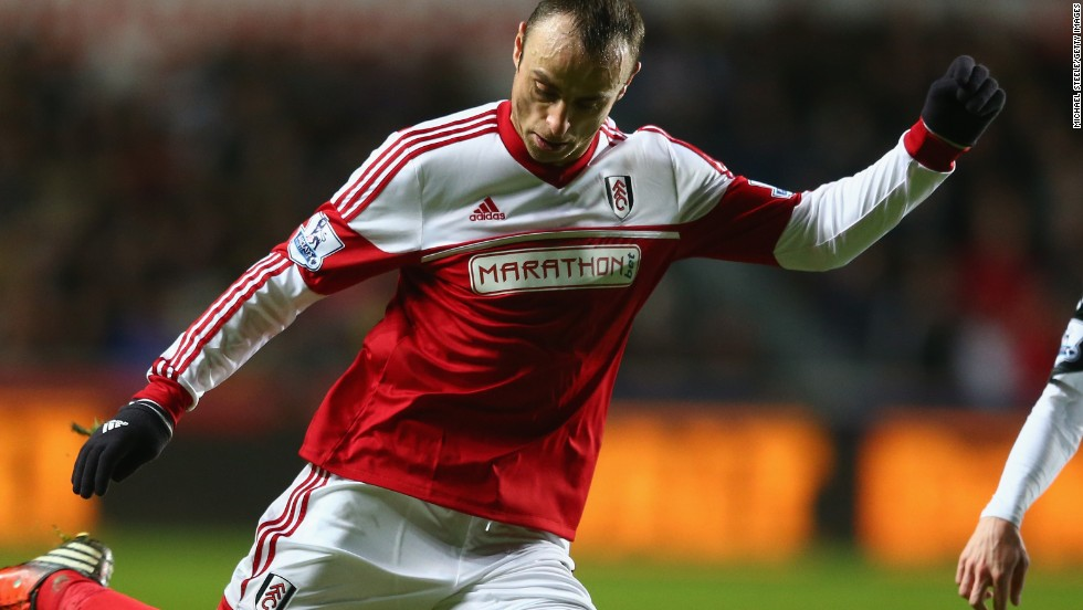 Dimitar Berbatov was in action for English Premier League Fulham at the weekend but the Bulgarian international striker has now signed for Monaco in Ligue 1 on loan with a view to a permanent move.