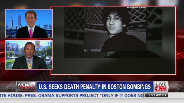 Death penalty wanted in Boston bombings