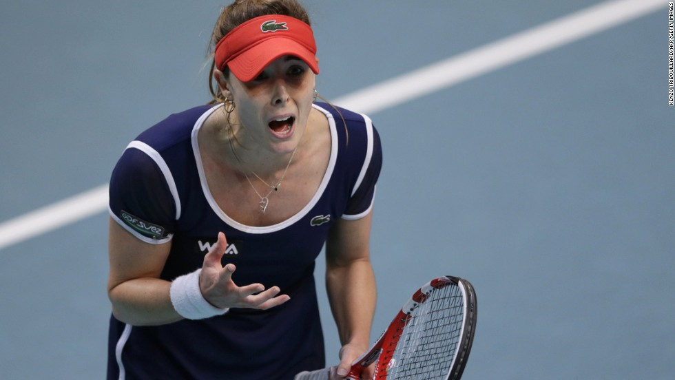 Cornet bounced back from losing the first set in a tiebreak to level the match, and then rallied from 5-3 down in the decider to force another shootout -- but lost it 7-5.