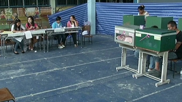 Thailand voting under way