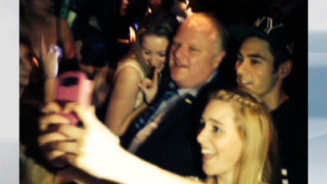Mayor Ford gets ticket, denies drinking