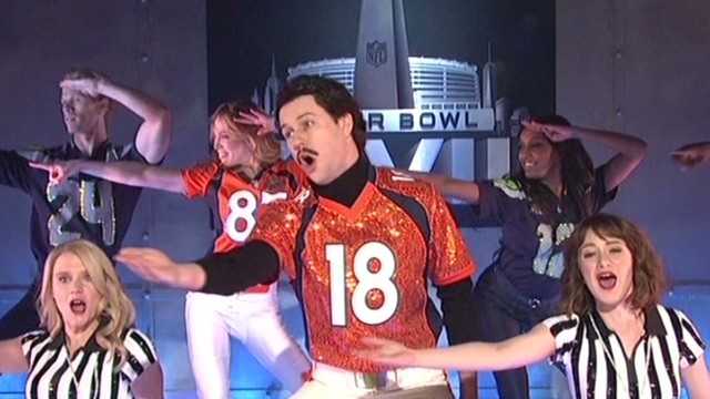 'SNL' mocks Super Bowl halftime show
