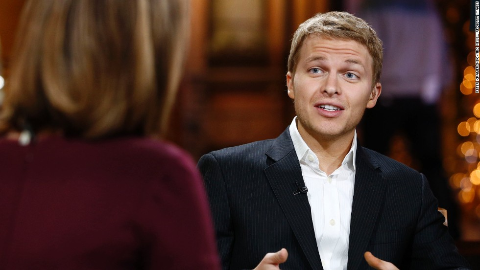 "Ronan Farrow was formerly known as ""Satchel"" and was believed to be the biological son of Mia Farrow and Woody Allen. His mother cast doubt on that in 2013 when she revealed that his father could be her former husband Frank Sinatra, to which Ronan quipped on Twitter, ""Listen, we're all *possibly* Frank Sinatra's son."""