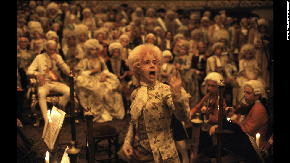 "Another epic, ""Amadeus"" was based on Peter Shaffer's award-winning play about composer Wolfgang Amadeus Mozart (Tom Hulce) and his rival, Antonio Salieri. The film won eight Oscars, including awards for director Milos Forman -- his second, after ""One Flew Over the Cuckoo's Nest"" -- and star F. Murray Abraham, who played Salieri."