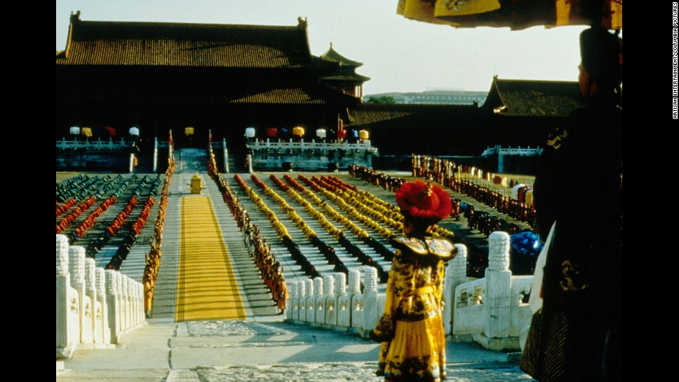 Director Bernardo Bertolucci's film about the life of Chinese emperor Puyi won nine Oscars -- quite an achievement, considering it was nominated for zero awards in the acting categories. Besides best picture, it also won best director, best adapted screenplay and best cinematography, among others.