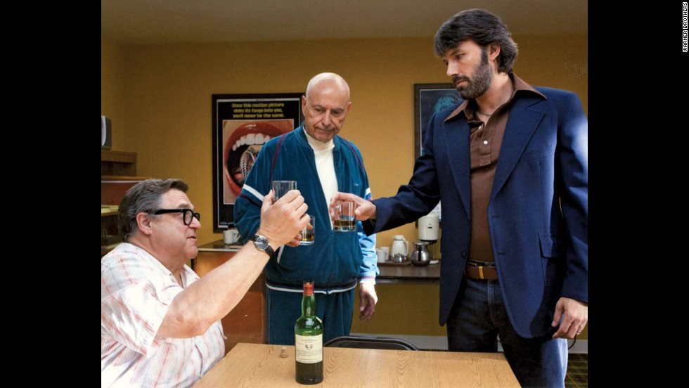 """Argo,"" based on a 1980 operation to free some of the American hostages during the Iran hostage crisis, won three Oscars: best picture, best adapted screenplay and best film editing. Ben Affleck, right, directed and starred."