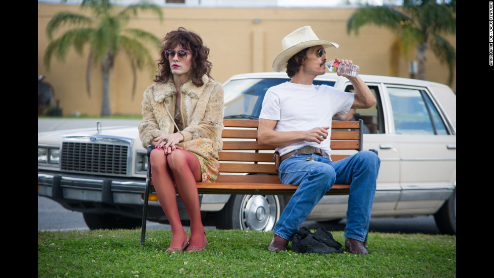 "Jared Leto put in <em>work </em>in order to fully become Rayon, a transsexual diagnosed with AIDS in ""Dallas Buyers Club."" CNN readers thought he should be the one to take home Oscar."