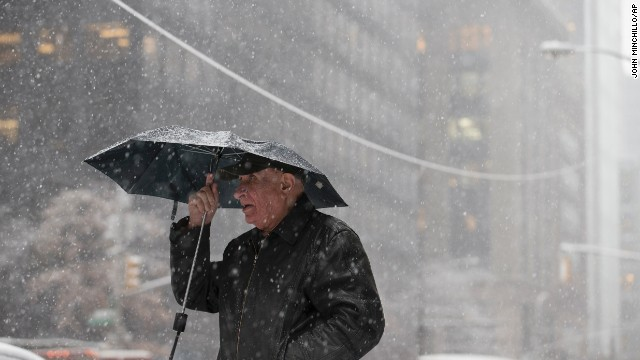 New York bracing for another snowstorm