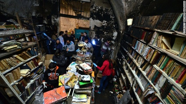 Volunteers hope the $35,000 will be raised to restore the books and building.