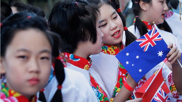 Chinese immigration into Australia now represents the third largest group after migrants from the UK and New Zealand.