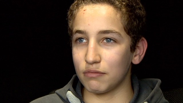 Teenage refugee won't give up on Syria