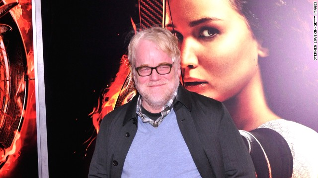 Actor Philip Seymour Hoffman attends the 'Hunger Games: Catching Fire' New York Premiere at AMC Lincoln Square Theater on November 20, 2013 in New York City.