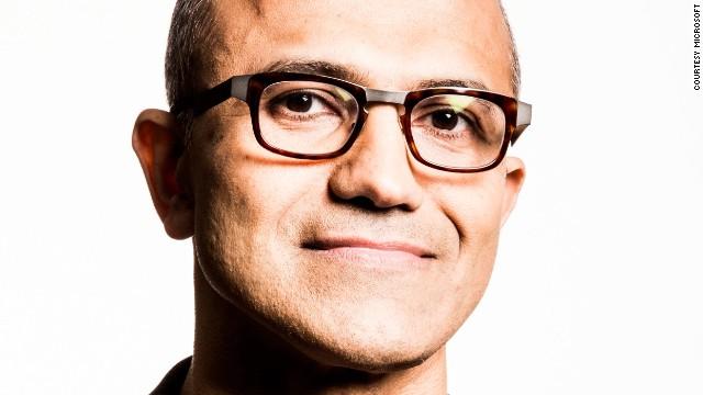 Microsoft introduced its new CEO, Satya Nadella, on Tuesday, February 4, 2014.