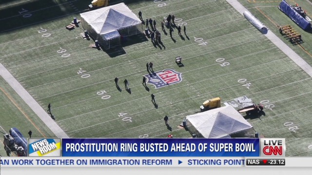 Eyeing sex trafficking at the Super Bowl