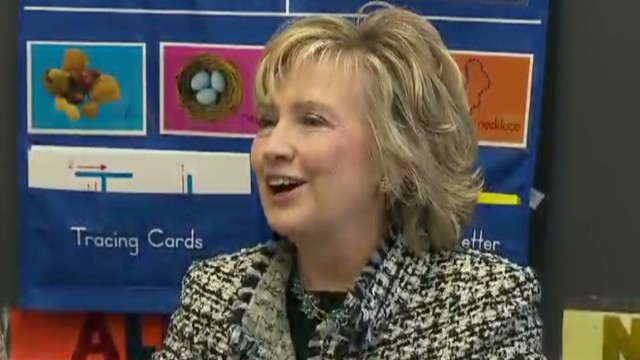 Clinton a better stateswoman than singer?