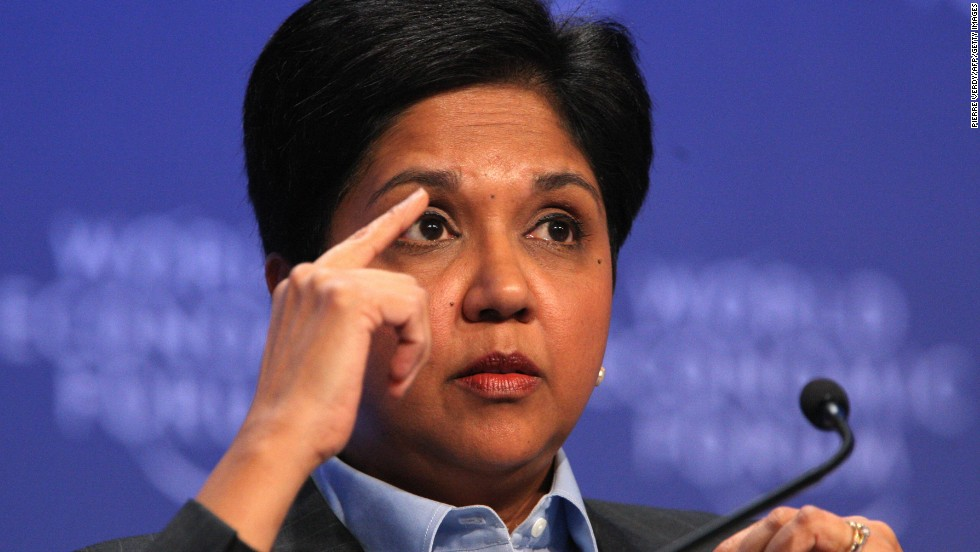 Indian-born PepsiCo chairman and chief executive Indra Nooyi sits at number 10 in the Forbes list of the world's most powerful women. Nooyi has expanded the business beyond soda to include fast-growing categories like yogurt and hummus. Pepsi today boasts 22 billion-dollar brands.