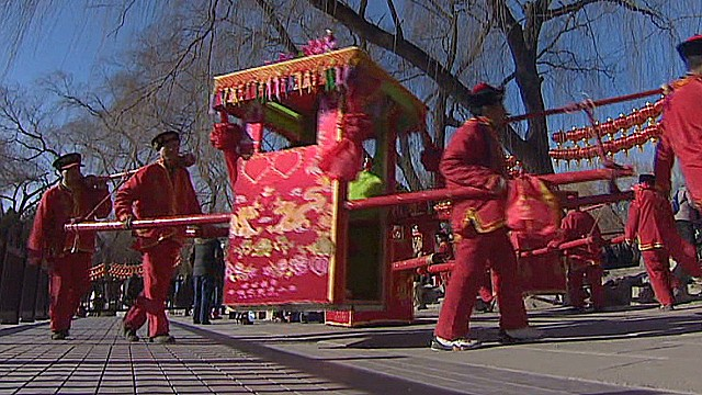 Spring Festival in full swing in China