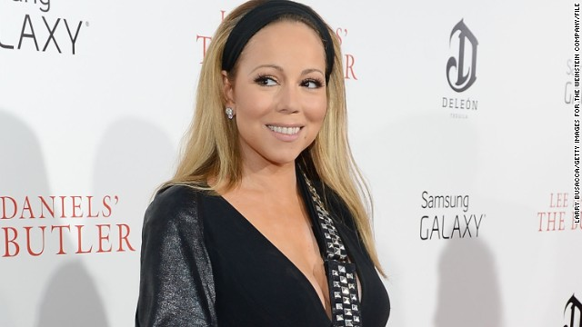 Mariah Carey in a file photo.
