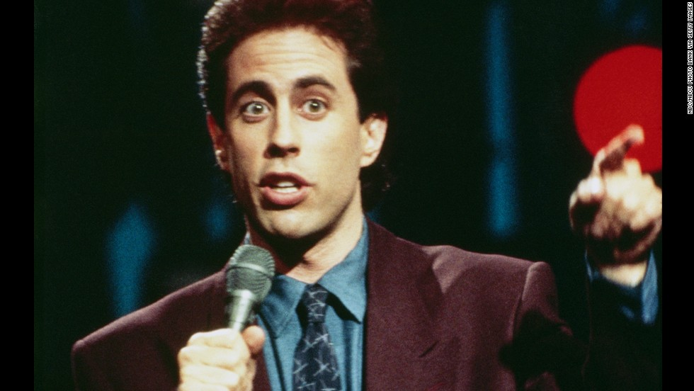 When his series premiered in 1989, Seinfeld was best known as a stand-up comic who made the rounds of the late-night shows.