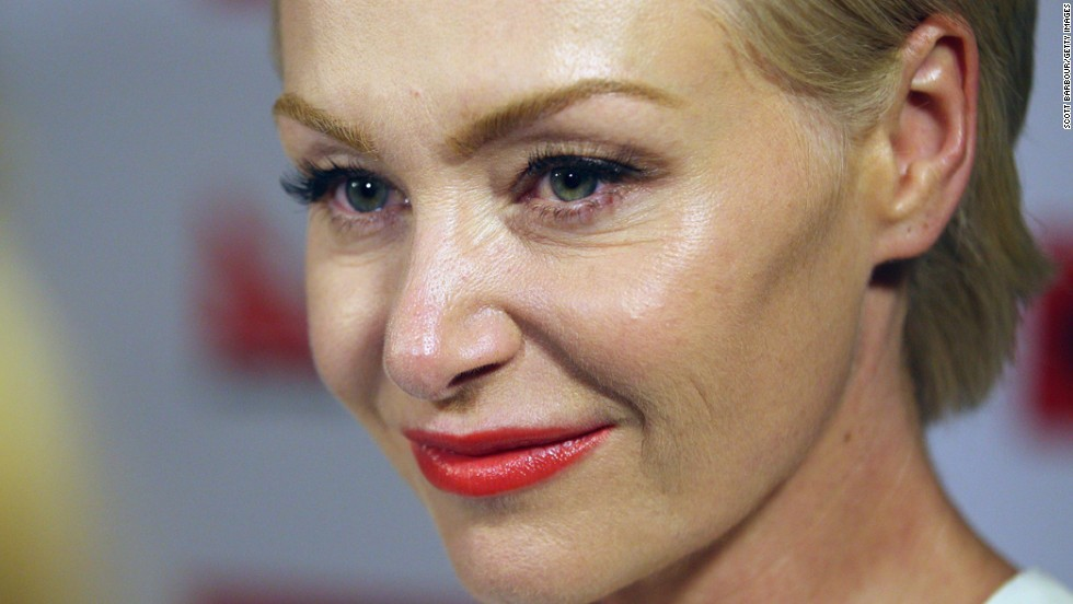 "Portia de Rossi of ""Ally McBeal"" and ""Arrested Development"" is the exotic name chosen by Amanda Lee Rogers, who was born in Horsham, Australia. De Rossi also now goes by Portia DeGeneres, after her spouse, Ellen DeGeneres."