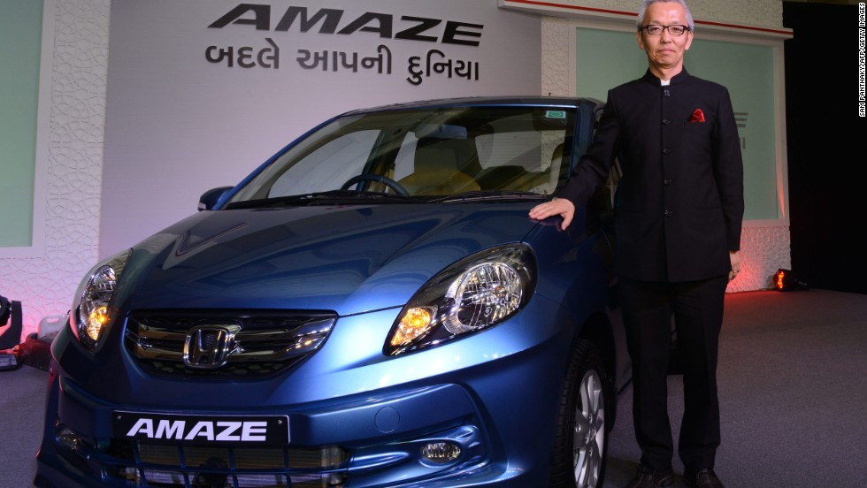 The Honda Amaze is India's best-selling diesel car, according to the manufacturer.
