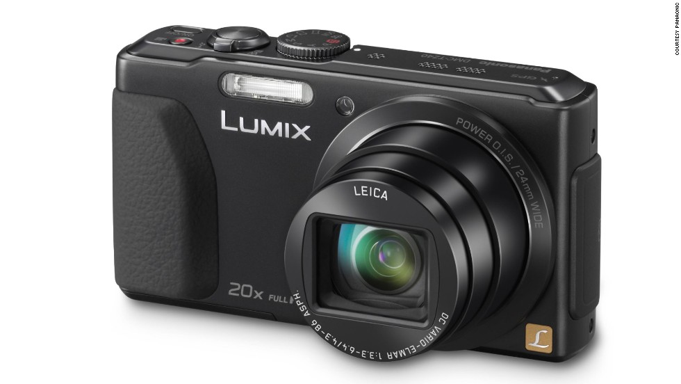 <strong>Panasonic TZ40</strong>. A compact camera with one of the longest optical zooms around, the TZ40 also has a wide lens for great landscape photos as well as detailed shots of the far distance. On burst mode, it can score up to 10 frames per second.