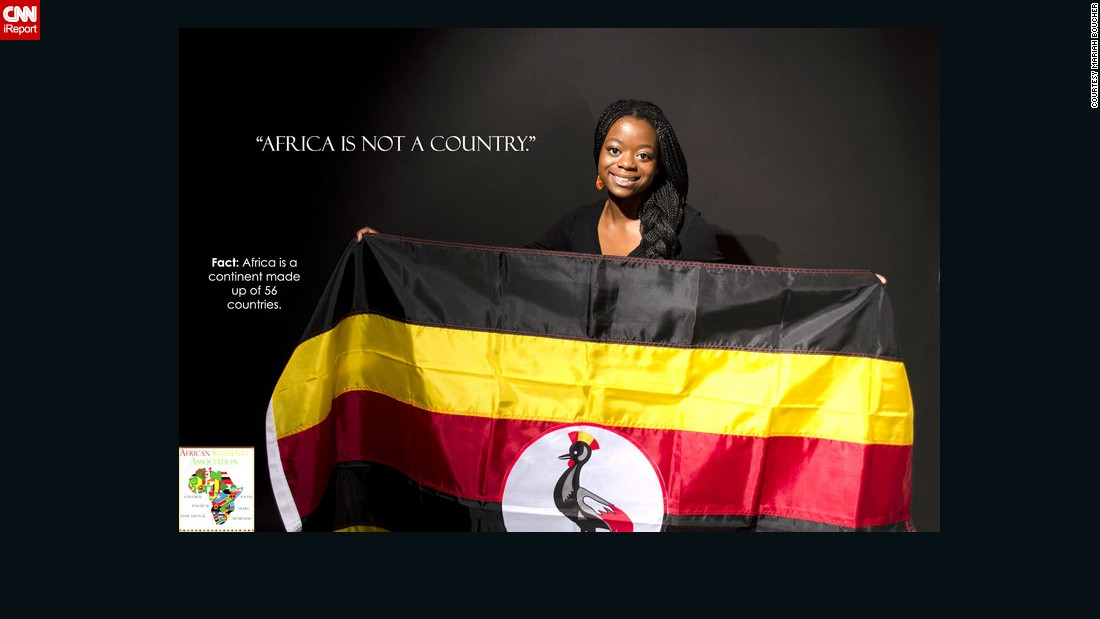 """We wanted to show the beauty and the power of the flag. We also wanted to break one of the biggest misconceptions about the continent, which is that Africa is a country,"" says Bunatal."