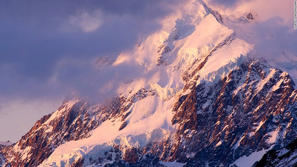 At 3,754 meters, Aoraki/Mount Cook is New Zealand's highest mountain.