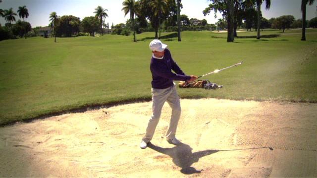 Martin Kaymer's sand shot master class