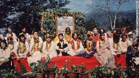 Hindu pilgrimage site, made famous by the Beatles