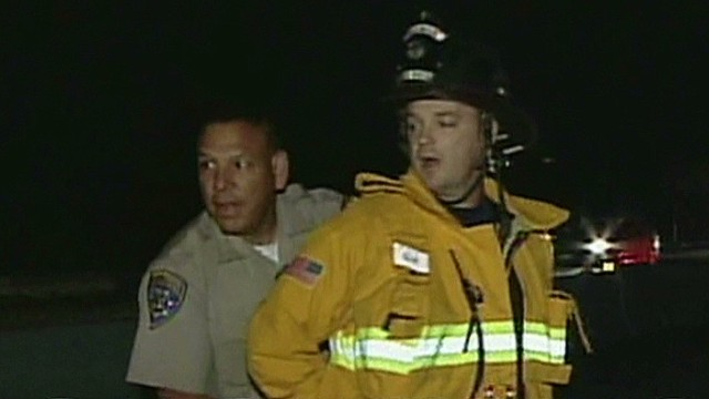 Firefighter handcuffed while on duty