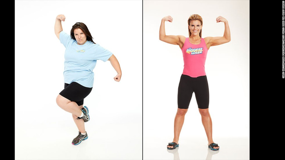 "Dannielle ""Danni"" Allen won season 14 of ""The Biggest Loser"" in 2013. She entered the competition at 258 pounds, and by the end of it she was down to 137."