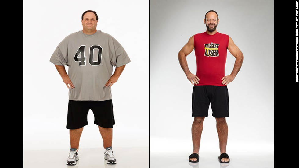 biggest loser before and after weights
