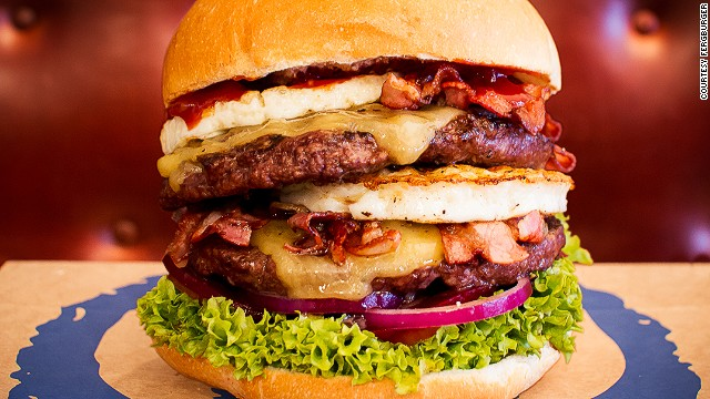 Fergburger's Mr. Big Stuff. The name says it all.