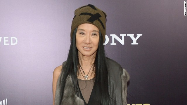 Designer Vera Wang attends 'The Monuments Men' premiere at Ziegfeld Theater on February 4, 2014 in New York City, New York.