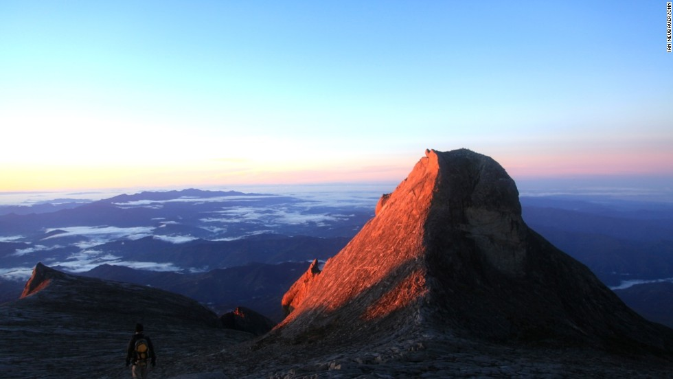 At 4,092 meters, the stunning St. Johns Peak is only three meters shorter than Mount Kinabalu's true summit, Low's Peak. It was named after a former British counsel in Brunei who joined the second and third documented climbs of Mount Kinabalu in 1858.
