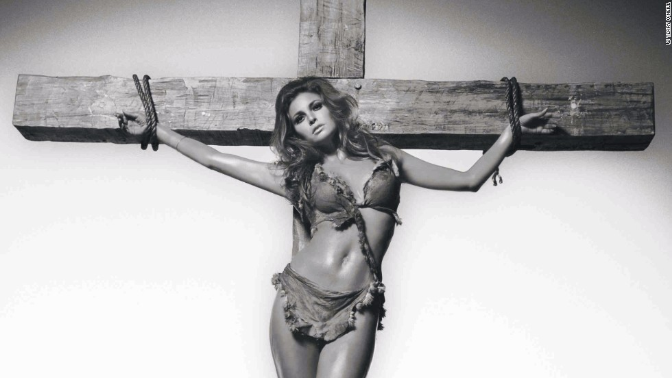 "Raquel Welch turned heads with her figure, but she wasn't always comfortable putting it on display. In 1966 she worried that her provocative costume in the fantasy-adventure film ""One Million Years B.C."" would stir controversy. <br /><br />""One day she said to me, 'I'm going to get crucified for wearing that bikini,'"" O'Neill says. ""Immediately my mind goes to crucifying her. I shot it but I didn't hand it in because I felt people would be offended by it. It wasn't meant to be an offensive picture. I've only released it recently."""